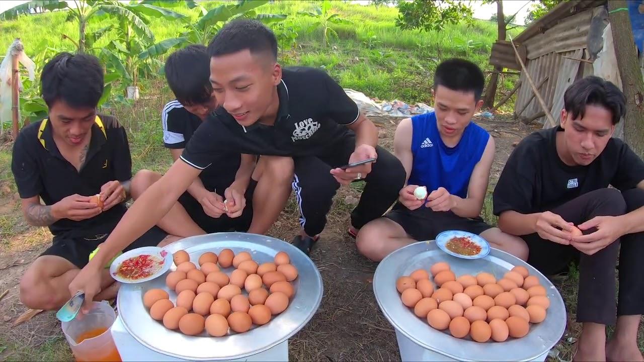 Hữu Bộ | Thi Ăn Trứng Gà Luộc Nhận 10 Triệu Và Cái Kết