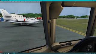 PREPAR3D 4.4 | Falcon 50EX | Cancun - St. Maarten | VATSIM | Landing