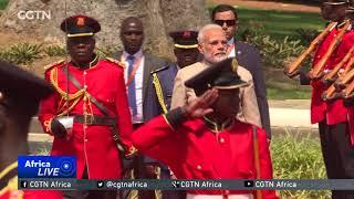 Indian PM Modi tours East Africa ahead of BRICS summit