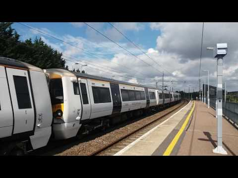 Trains at Whittlesford Parkway Part 1 29/8/16