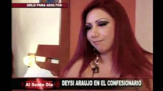 Repeat youtube video Confesionario sexual: Deysi Araujo inaugura este ardiente juego
