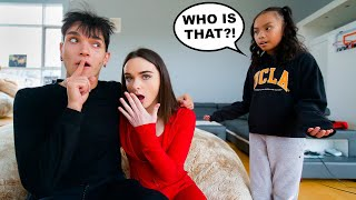 Cheating In Front Of My Little Sister To See If She Tells My Girlfriend!