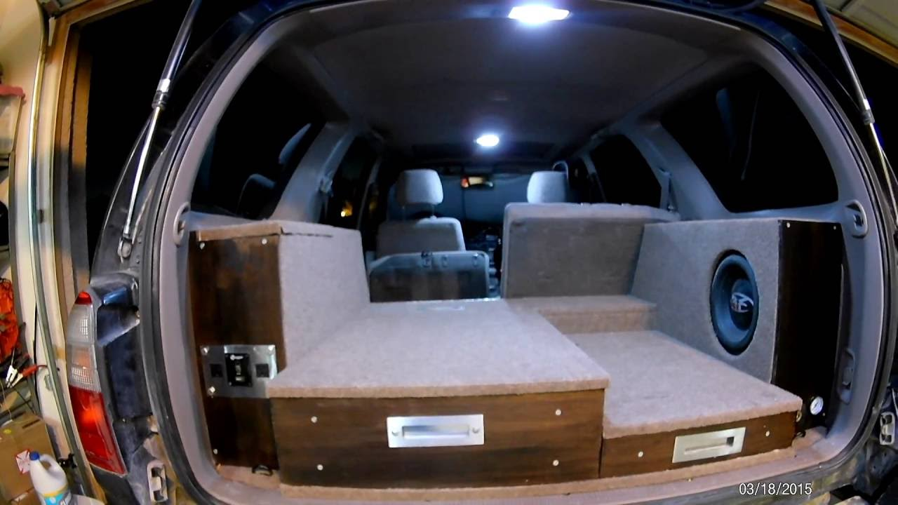 3rd Gen 4Runner Storage Box