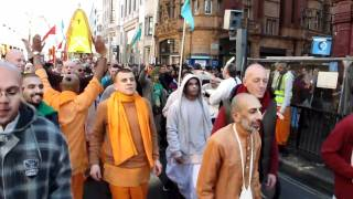 London, Oxford Street Harinam On Gaura Purnima 2011 (In 720 HD).