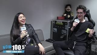Vicki Oh Interviews Panic! At The Disco's Brendon Urie Video