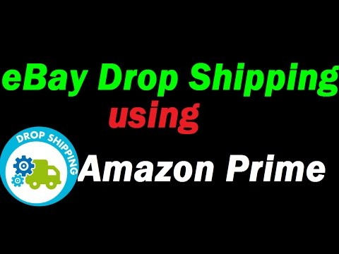 Using Amazon Prime to Drop Ship on eBay to get Free 2 Day Shipping for your Customers