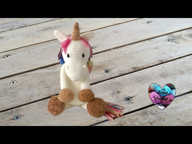 Patrón unicornio fantasía / kawaii amigururmi crochet | donpatron | 480x640