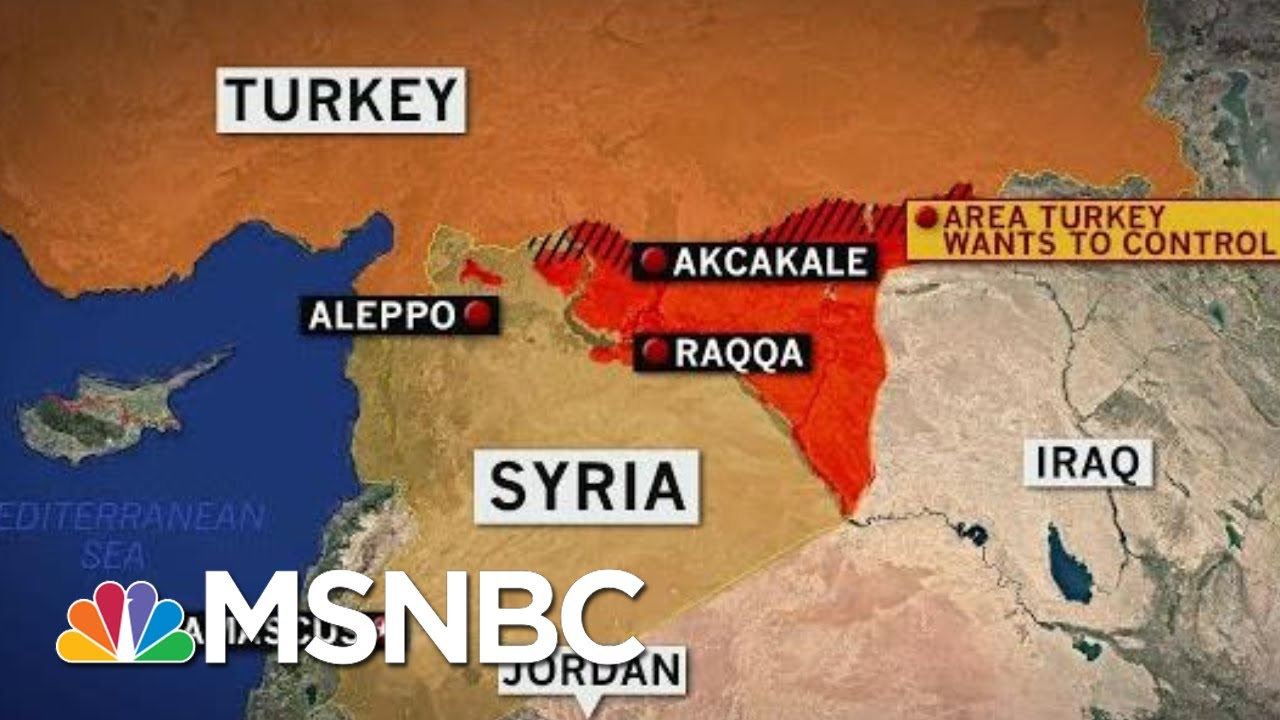 Turkey Begins Airstrikes And Operations In Northern Syria   Velshi & Ruhle   MSNBC - MSNBC