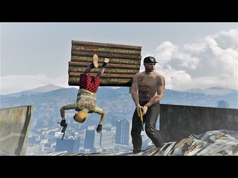 PARKOUR EN LA PLAYA! - GTA V!