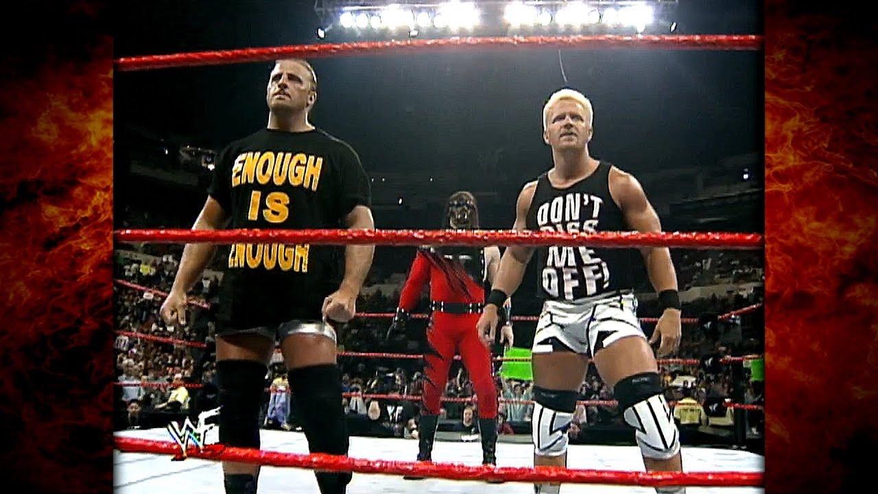 Kane Accepts Jeff Jarrett & Owen Hart's Challenge For The Tag Team Titles! 4/4/99