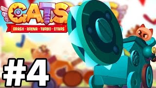 UPGRADING EVERYTHING!!  | C.A.T.S | Crash Arena Turbo Stars Gameplay Part 4
