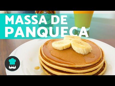 Massa de PANQUECA AMERICANA simples 🥞 e deliciosa 😍