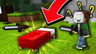 MINECRAFT MURDER MYSTERY KIT IN BED WARS!?