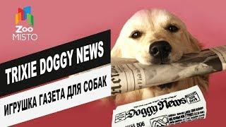 Trixie Doggy News игрушка газета для собак  | Обзор игрушки от Trixie | Doggy News toy newspaper