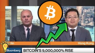 BITCOIN'S 9,000,000% PRICE GROWTH Highlighted by Bloomberg