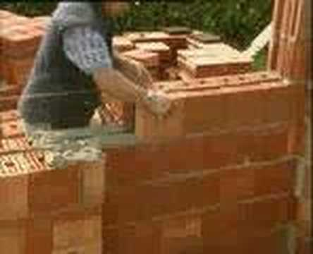 Costruire un muro di mattoni eurobrick youtube for Come costruire un garage in mattoni