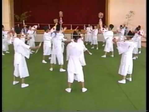 根府川寺山神社の鹿島踊(1989)1_2