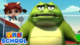 Гоб и друзья - Бадминтон | смешные видео | Мультфильмы для детей | Дошкольное