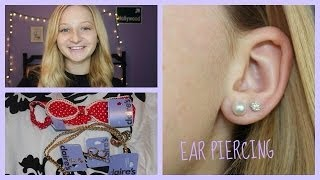 EAR PIERCING AT CLAIRES EXPERIENCE. | Sparkleandglitter29