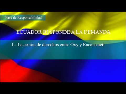 Caso OXY I - Antecedentes