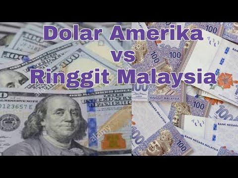 Tukar Uang # Ringgit Malaysia Ke Dolar America (USD)