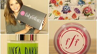 FabFitFun Summer 2014 Edition Box Opening Thumbnail