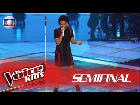 Franciele Fernanda canta 'Alô! alô! Marciano'  no The Voice Kids Brasil - Semifinal