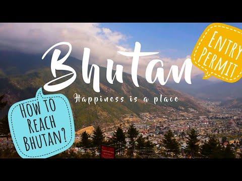 Bhutan Travel Guide ( PART-1 ) (HINDI)  (how to reach bhutan / ENTRY PERMIT