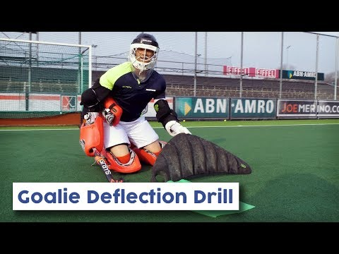 Goalie Deflection Drill | Hockey Heroes TV