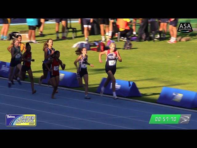 Final Girls u16 800m - 2019 Twizza SuperSchoolSeries Greenpoint
