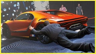 Someone Stole the Competition Car from the Casino! | GTA Online Diamond Casino Missions