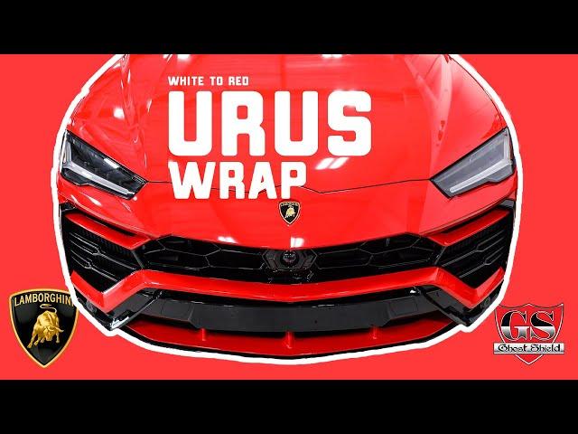 Calabasas Vinyl Wrap Lamborghini Urus
