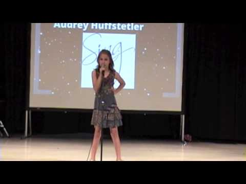 Audrey Performs at the Greystone Elementary School Talent Show