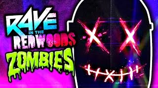 RAVE IN THE REDWOODS: THE SLASHER TEASED! (New Zombies DLC Teasers)