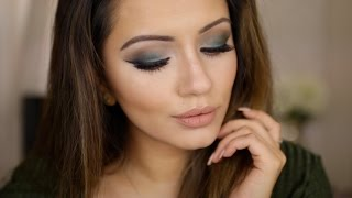 Date Night Get Ready With Me 💚 Khaki Gradient Eyes