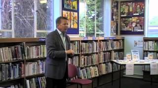 Bill Turnbull at Rainham Library