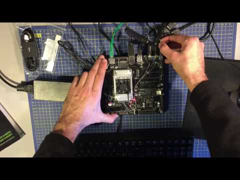 NVIDIA Jetson TX2 by JetsonHacks on YouTube