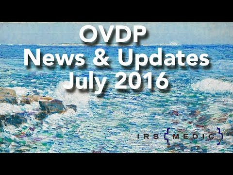 Offshore Disclosure updates from the OVDP lawyers at Parent & Parent LLP/IRSMedic