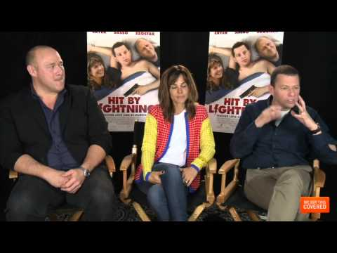 Hit By Lightning Interview With Jon Cryer, Stephanie Szostak and Will Sasso [HD]