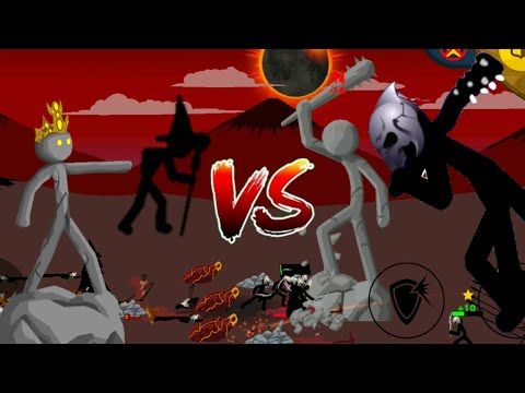 Lv 1 Magikills & Statue turrets VS The INSANE Final BOSS!?| Stick War Legacy