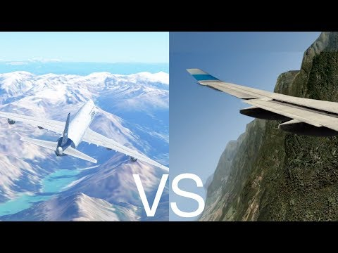 X-Plane VS Infinite Flight (iOS)