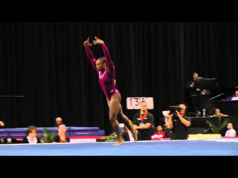 Elizabeth Price - Floor Exercise - 2014 AT&T American Cup