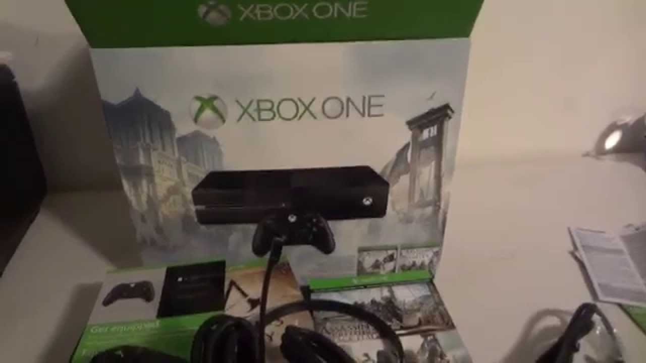 Xbox One Unboxing Unboxing REViEW OF XBO...