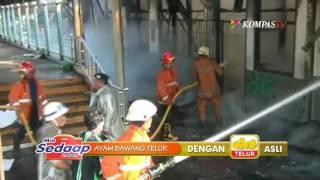 Kebakaran Stasiun Klender Diduga Akibat Korsleting Listrik