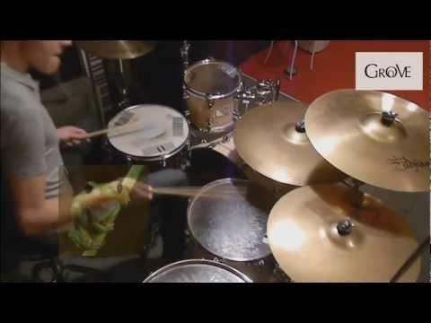 Техника игры на барабанах без усов.