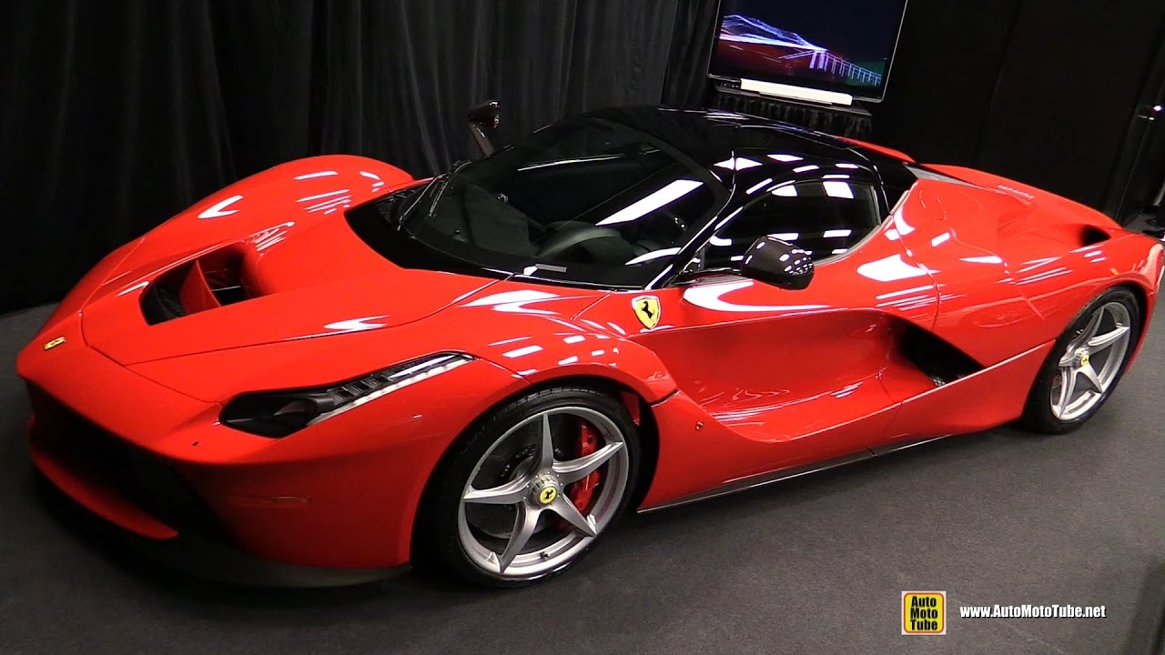 2015 ferrari la ferrari walkaround 2017 montreal auto. Black Bedroom Furniture Sets. Home Design Ideas