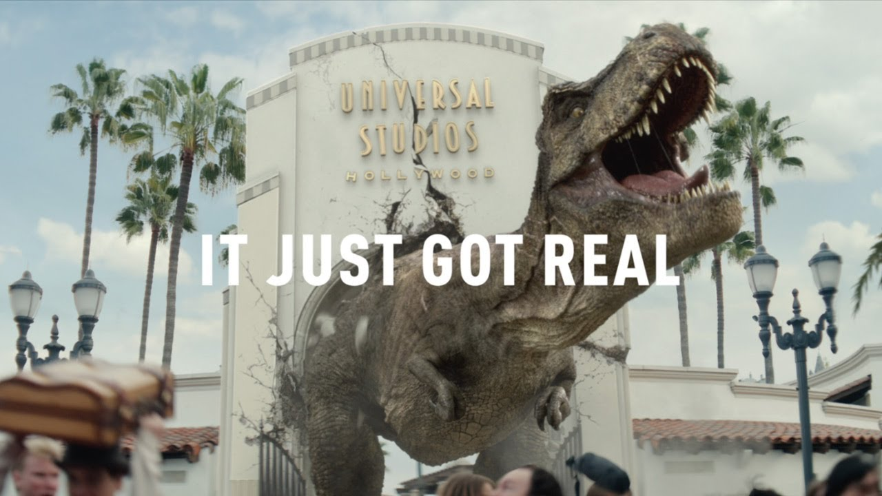 Jurassic World The Ride - It Just Got Real TV Spot