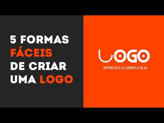 5 Formas de Como Criar Um Logotipo (Rápido e Fácil)