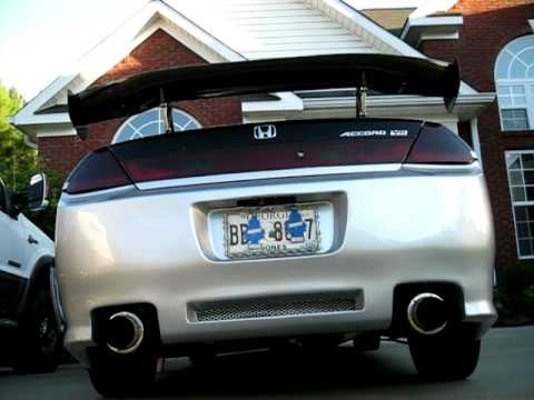 2002 Honda Accord Exhaust Youtube