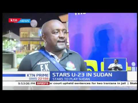 Kenya's U-23 football team in Sudan to face off with other African teams